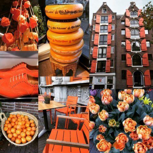 composition decorations orange inspiration Pays Bas