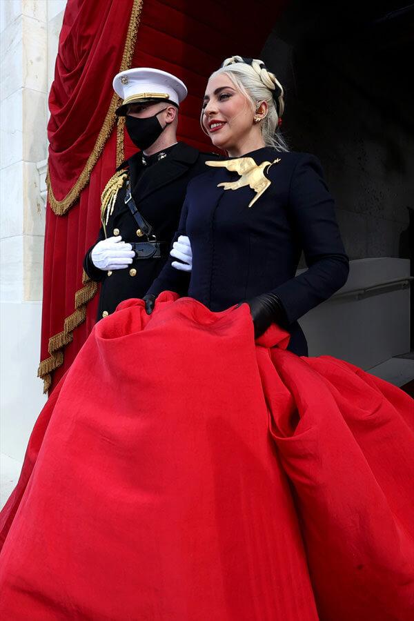 Gaga dress Schiaparelli
