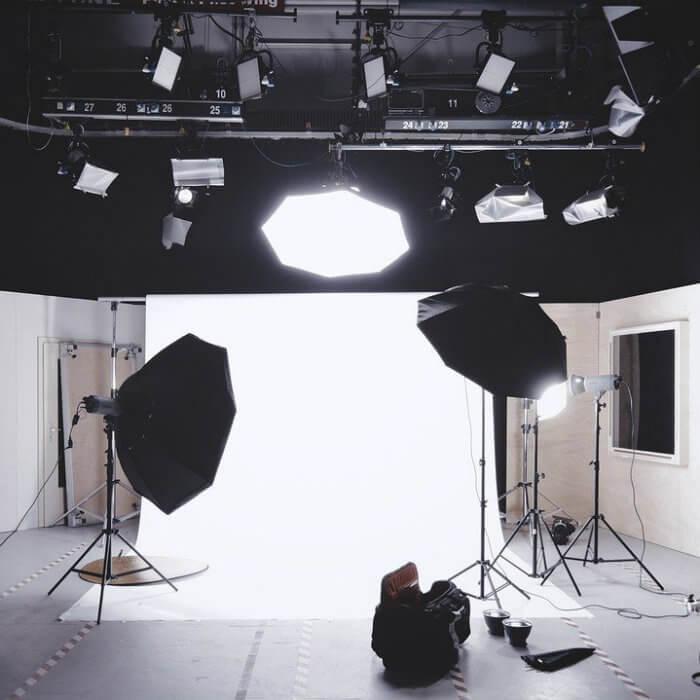 studio photo vide