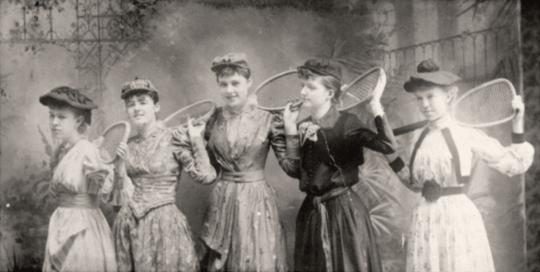 Les premières tennistes