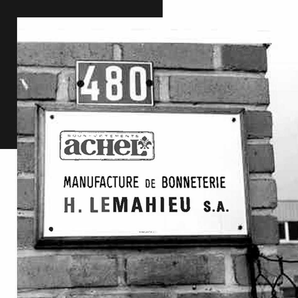 la plaque de Achel