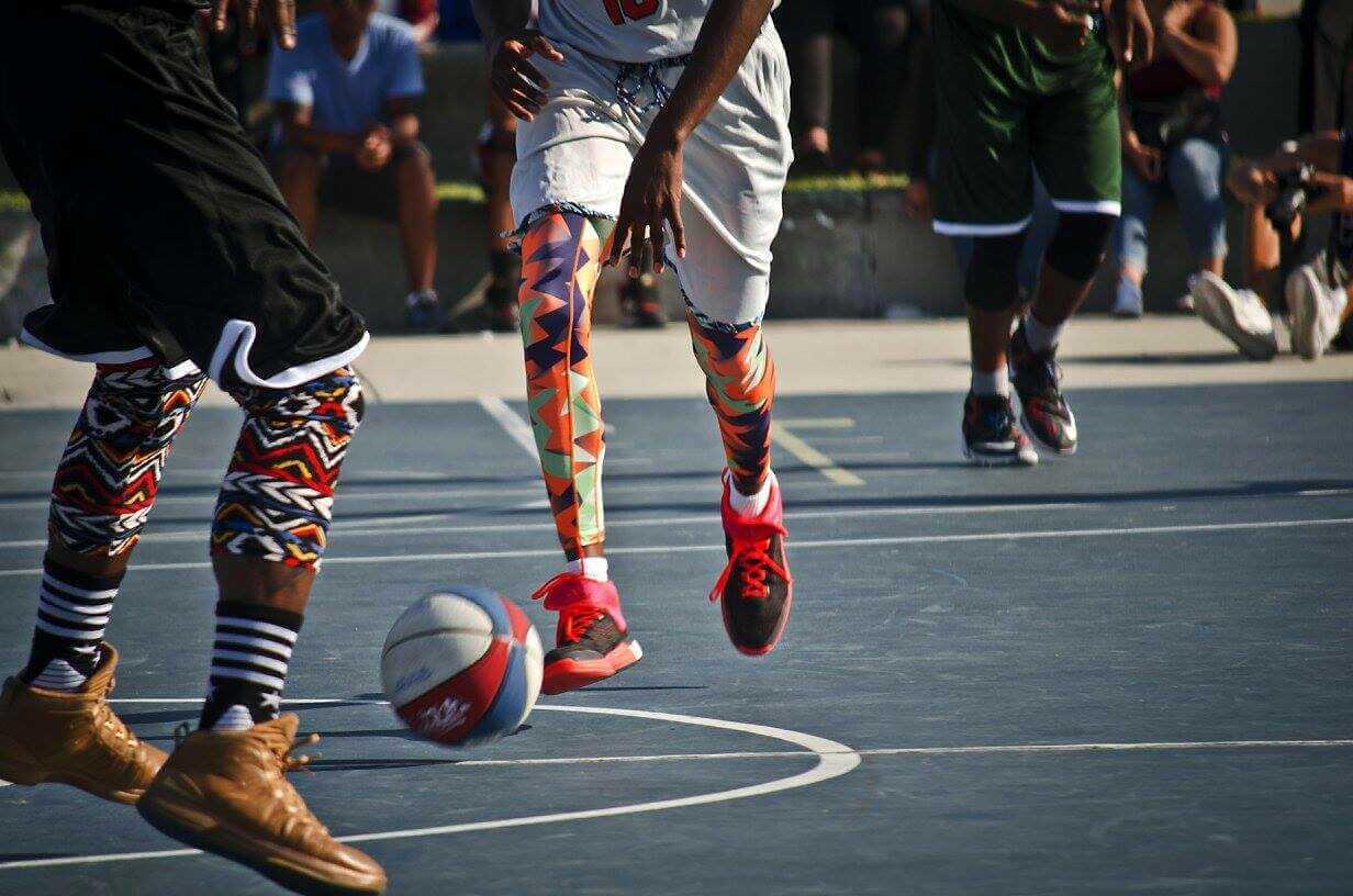 pieds au balon