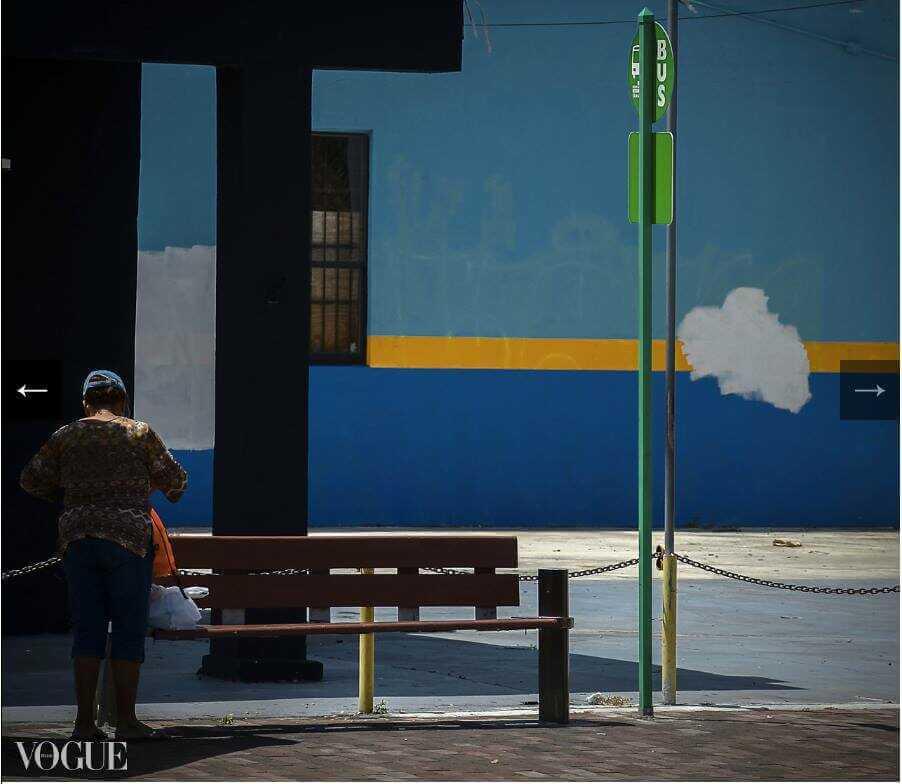 mur coloré Laura Giammichele Vogue