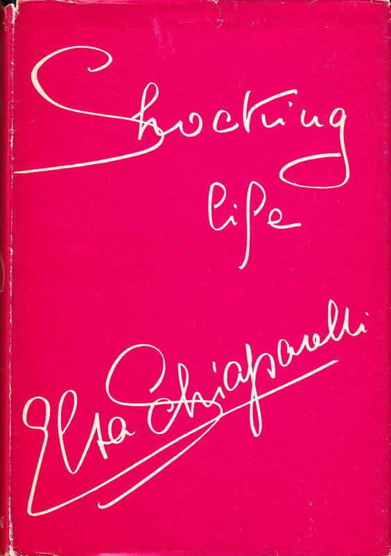livre autobiographique Schiaparelli