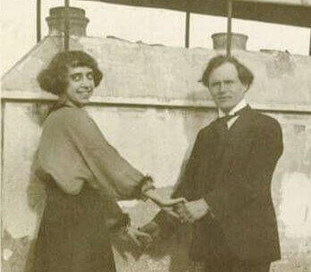 Schiaparelli et son mari