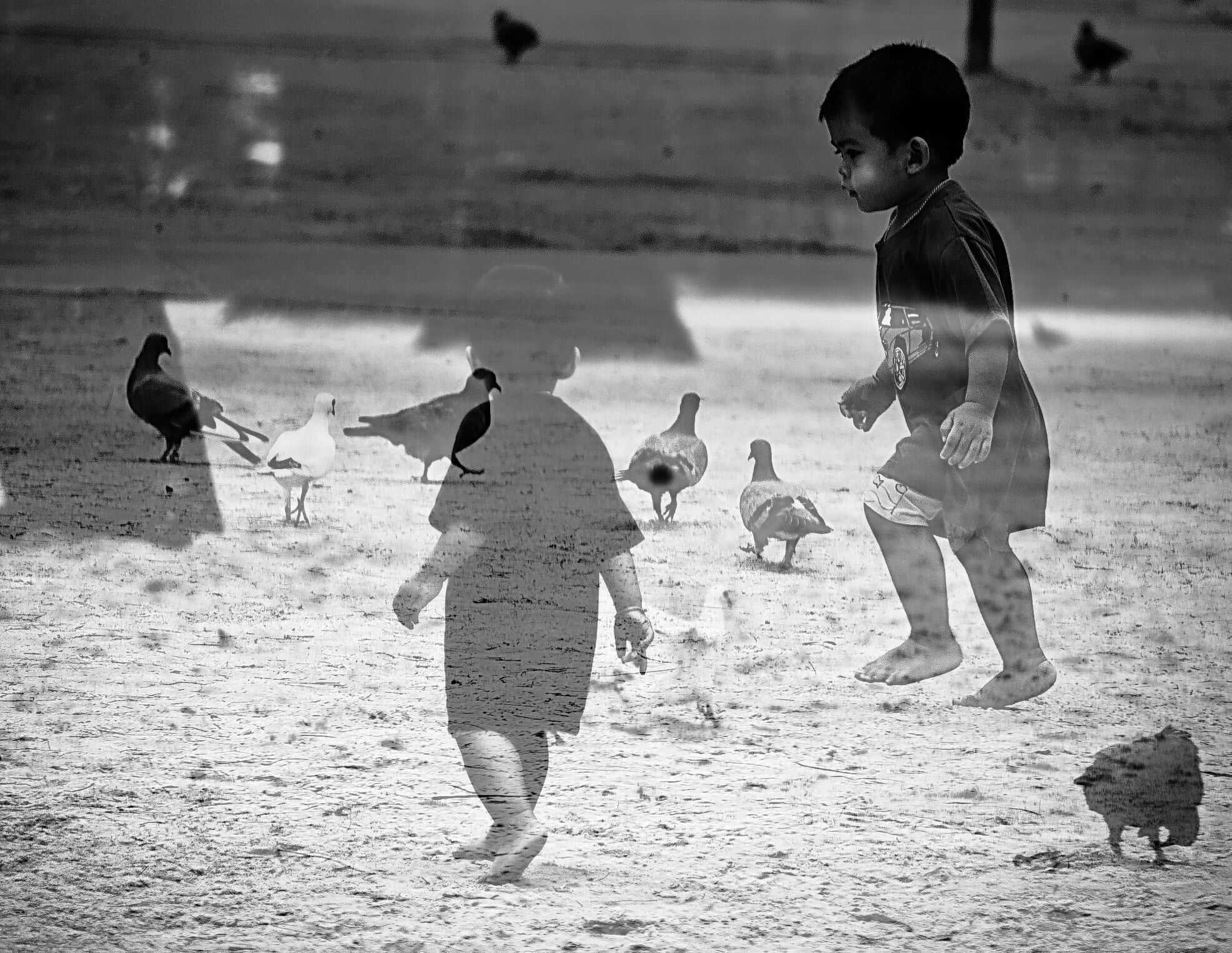 reflets d'enfants