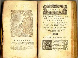 texte divina commedia