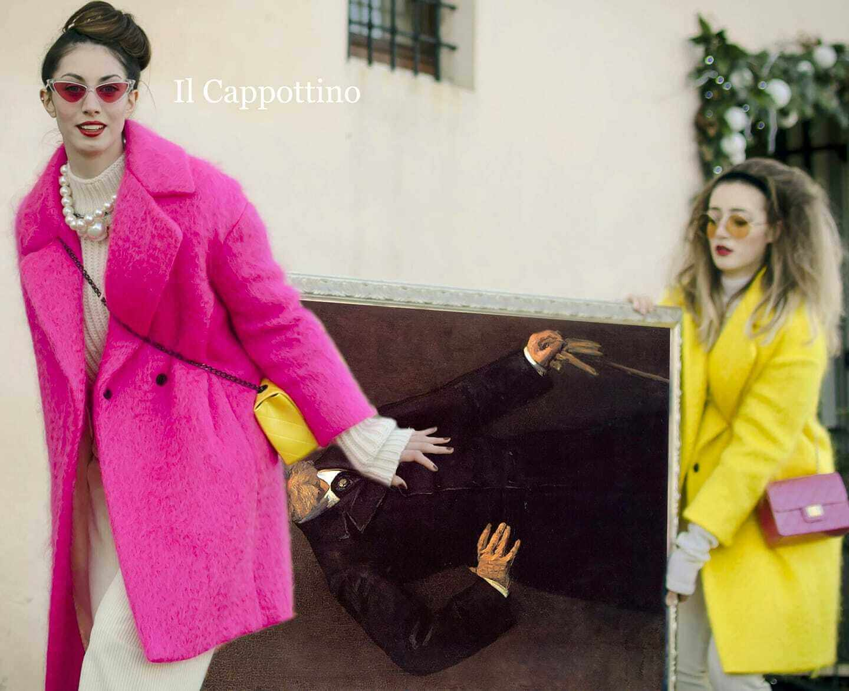 manteau fucsia de Laura Giammichele