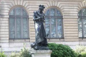 statua di dante parigi